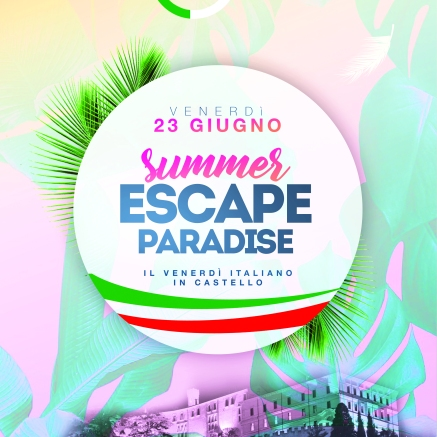 Summer escape locandina